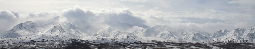 Alaska Range by Robert Phelps