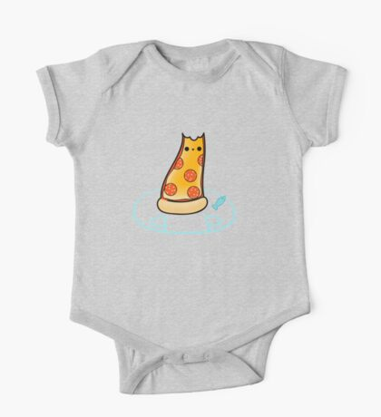 Purrpurroni and Cheese - Pizza Cat One Piece - Short Sleeve