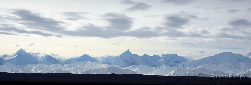 View of the Alaska Range by Robert Phelps