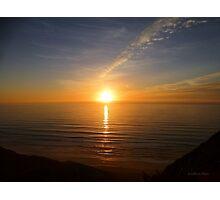 San Francisco Sunset 1414 Photographic Print