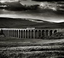 Ribblehead Viaduct, Yorkshire, England by 2cimage