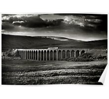 Ribblehead Viaduct, Yorkshire, England Poster