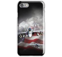 Plane of patriotism iPhone Case/Skin