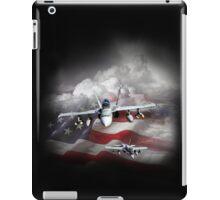 Plane of patriotism iPad Case/Skin