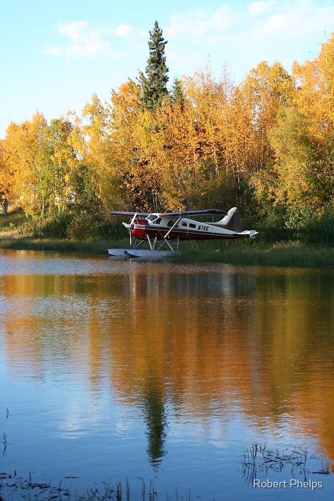 Autumn Float Plane by Robert Phelps