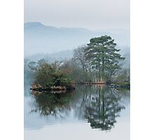 Heron Island Rydal Water Photographic Print