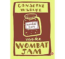 Wombat Jam Photographic Print