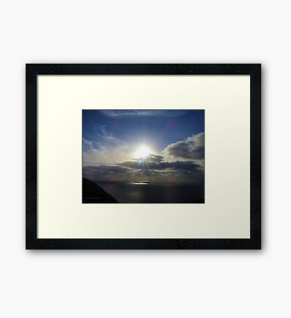 San Francisco Sunset 1417 Framed Print