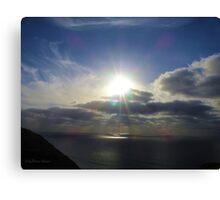 San Francisco Sunset 1417 Canvas Print