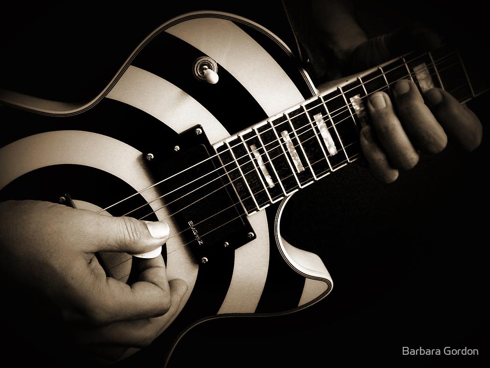 Guitar Player by Barbara Gordon