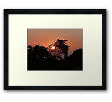 San Francisco Sunset 1418 Framed Print