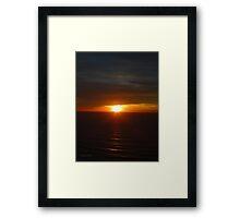 San Francisco Sunset 1419 Framed Print