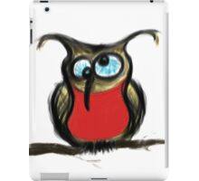Drunk Owl iPad Case/Skin