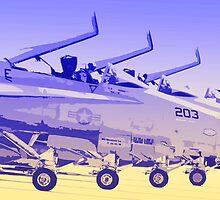 F18 Hornet 4 ship by Dougie  Monk