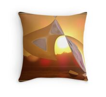 Poured From the Heavens  Throw Pillow