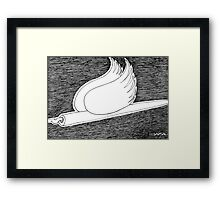 Pen and Pigeon Framed Print