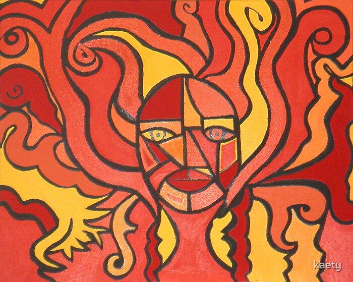 Fire Summer Goddess by kaety