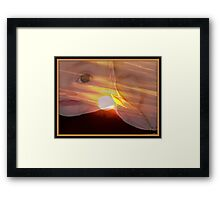 They Came From The Sun 1 Framed Print