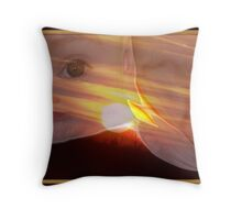 They Came From The Sun 1 Throw Pillow