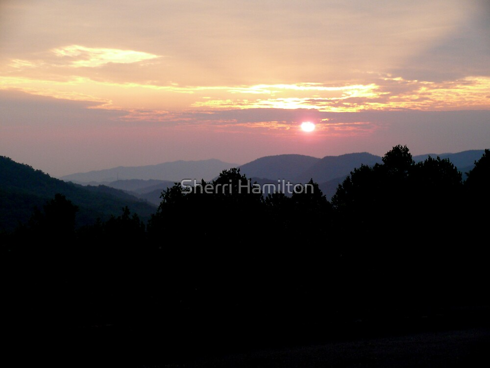Smoky Mountain Sunrise by Sherri Hamilton