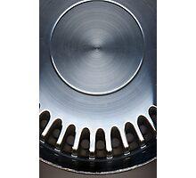 Genuine Steel Photographic Print
