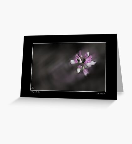 The Crown Fine Art Poster Greeting Card