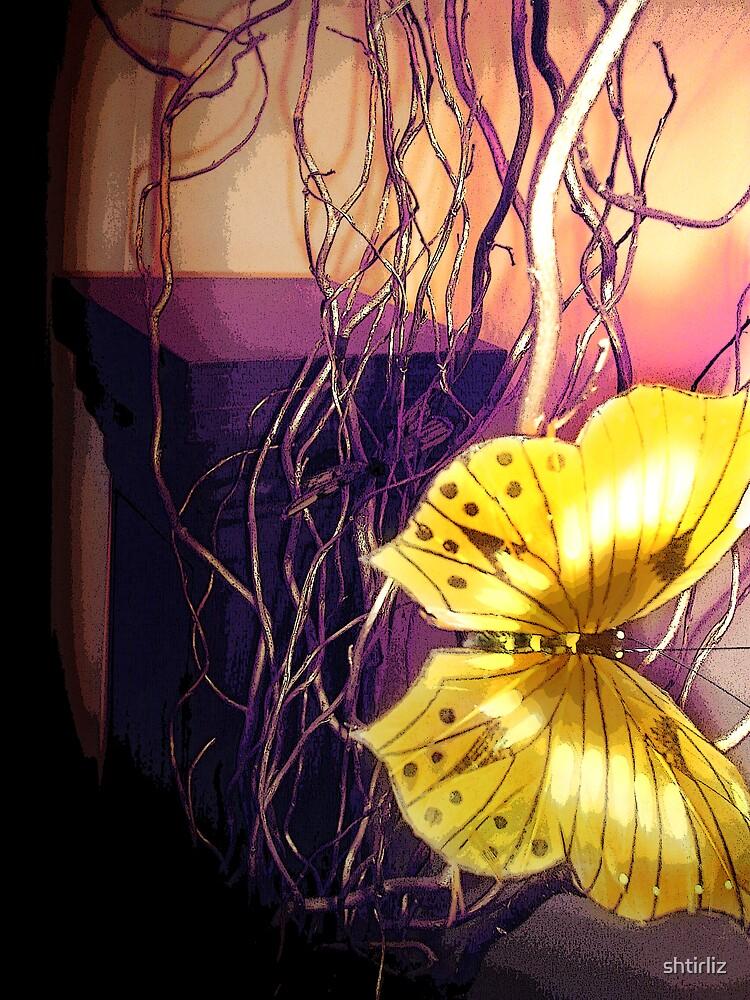 Yellow Butterfly by shtirliz