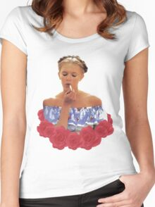 Lolita  Women's Fitted Scoop T-Shirt
