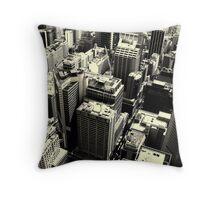 Downtown #3 Throw Pillow