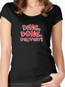 Ding Dong! The Wicked Witch Is Dead Wizard of Oz Women's Fitted Scoop T-Shirt