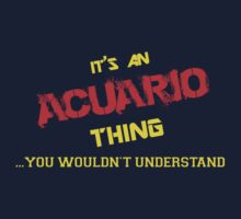It's an ACUARIO thing, you wouldn't understand !! by itsmine