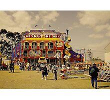 Circus Attraction Photographic Print