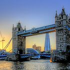 The Sun Goes Down - Tower Bridge - HDR by Colin J Williams Photography