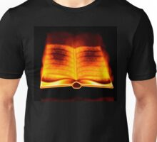 Burning book Unisex T-Shirt