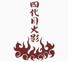 【17200+ views】NARUTO: 4th Hokage Namikaze Minato (四代目火影) Kids Clothes