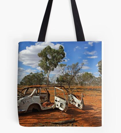 Australian outback near Cobar Tote Bag