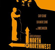 Alfred Hitchcock's North By Northwest by AlainB68