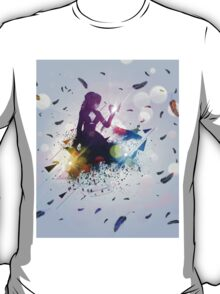 Crow and girl T-Shirt