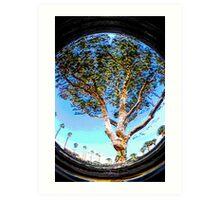 TREE CIRCLE Art Print