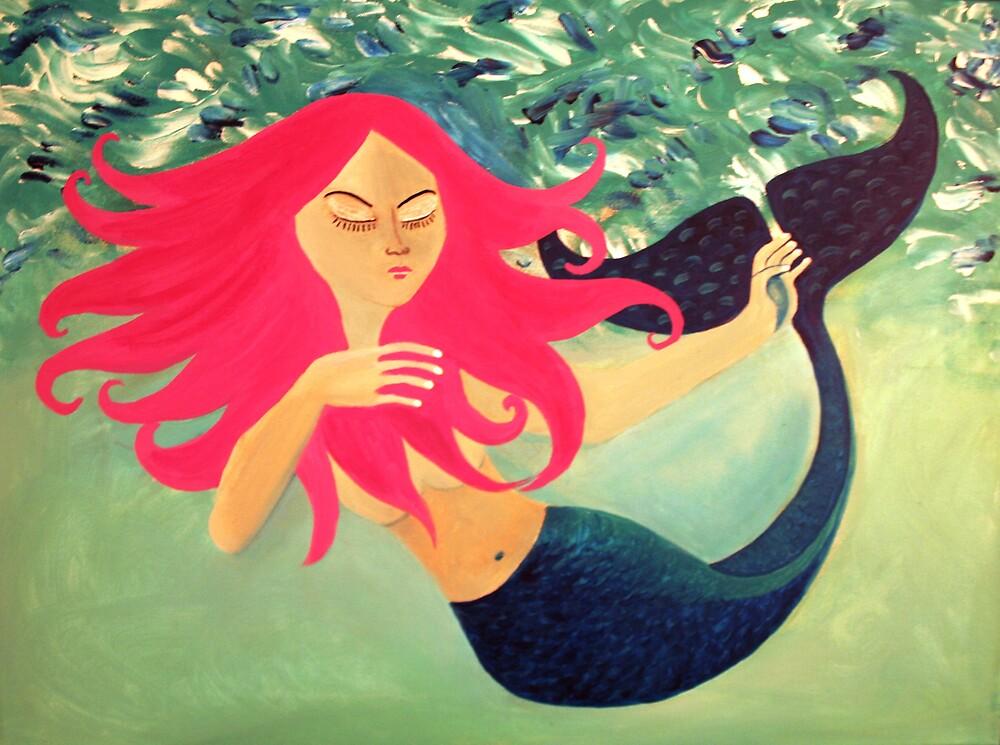 my lil mermaid by Naddl