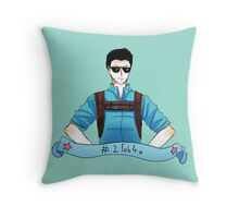 Minho is too fab for you Throw Pillow