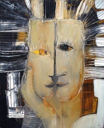 "ART by bec ""Kiss Me You Fool"" by ARTbybec"