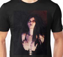Dark Angel in the Forest Unisex T-Shirt