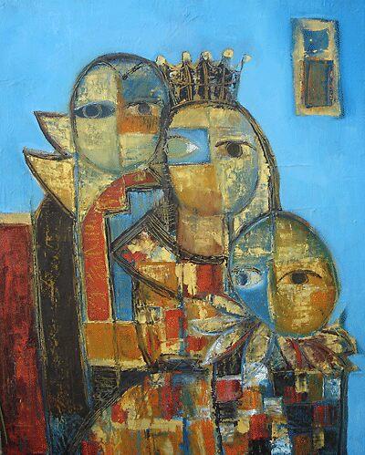 "ART by bec ""Children's Masquerade"" by ARTbybec"