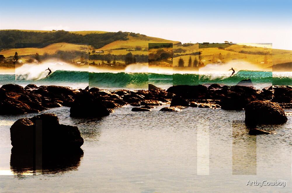 Werri Beach by ArtbyCowboy