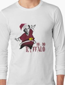 Ho-Ho-Ruffalo Long Sleeve T-Shirt