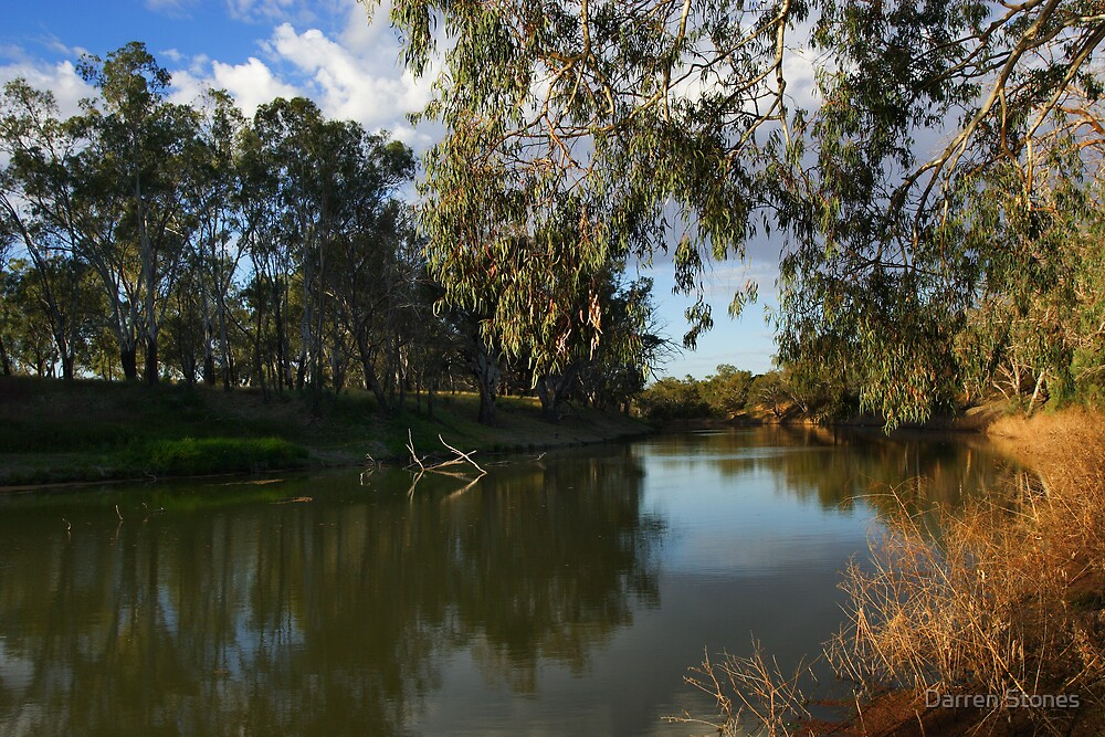 Darling River at Bourke by Darren Stones