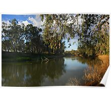 Darling River at Bourke Poster