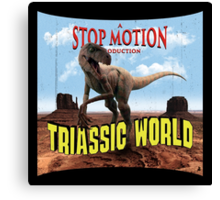 Triassic World Canvas Print