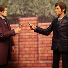 The Eleventh Doctor Meets The Tenth Doctor by Andrew DiNanno